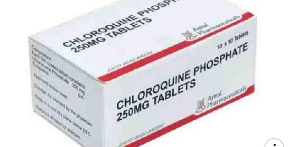 chloroquine coronavirus en Afrique Algérie