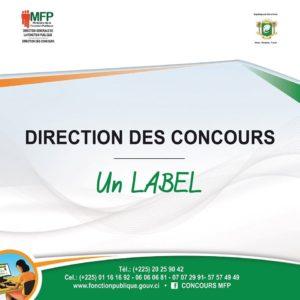 concours fonction publique 2020 cote d'ivoire