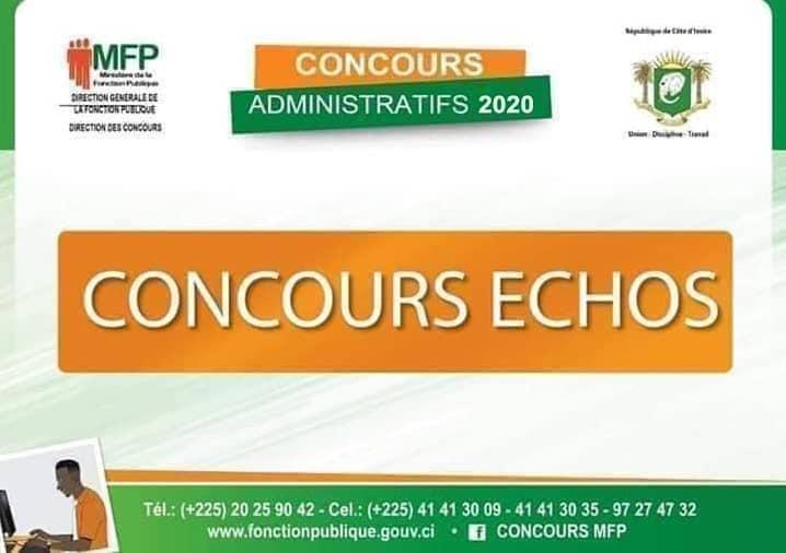 convocation concours fonction publique 2020