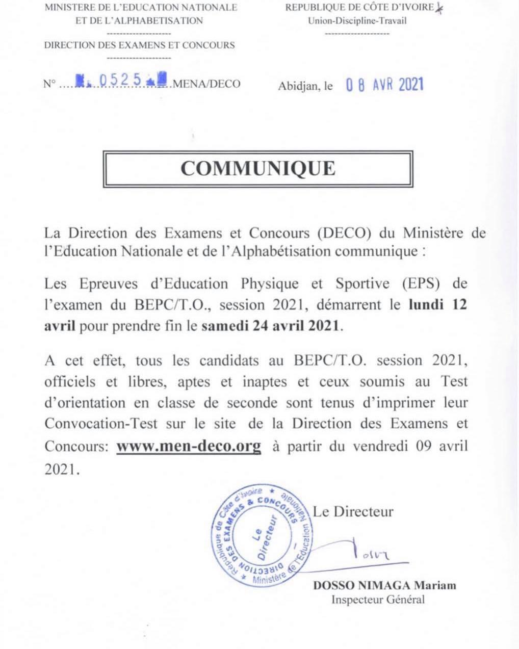 convocation-bepc-2021-disponible