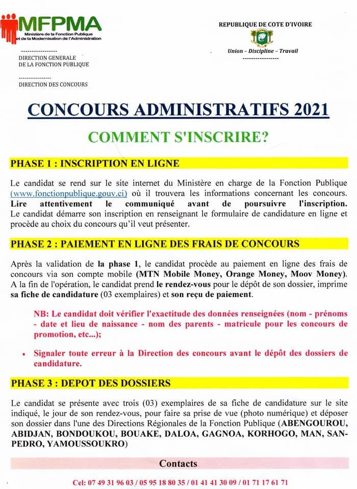 concours-fonction-publique-procédure-inscription